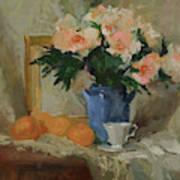 Tea and Roses Art Print