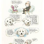 Ted Cruz's Dog Dishes Art Print