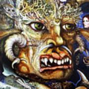 The Beast Of Babylon II Art Print