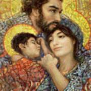 The Holy Family of Nazareth Art Print