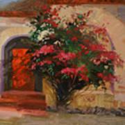 The Red Door - Catalina Island Art Print