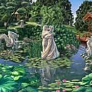 The Romance Garden Art Print