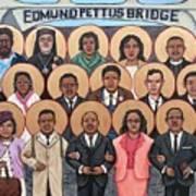 The Saints of Selma Art Print