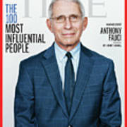 TIME 100 - Anthony Fauci Art Print