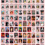 TIME 100 Women of the Year Poster -  For artist credits visit time.com/100-women-of-the-year Art Print