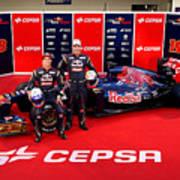 Toro Rosso F1 Launch Art Print