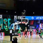 Toronto Raptors v Boston Celtics - Game Three Art Print