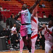 Toronto Raptors v Miami Heat Art Print