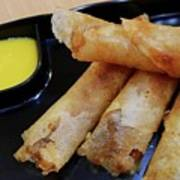Turon Banana Fritters With Jackfruit And Cheese Dipping Photograph By On Da Raks