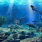 Undersea Discovery Art Print