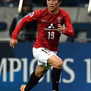 Urawa Red Diamonds v Beijing Guoan - AFC Champions League Group G Art Print