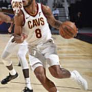 Utah Jazz v Cleveland Cavaliers Art Print