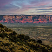 Verde Valley Arizona Art Print