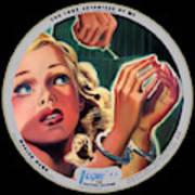 Vogue Record Art - R 731 - P 105 - Square Version Art Print