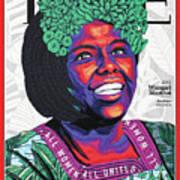 Wangari Maathai, 2001 Art Print