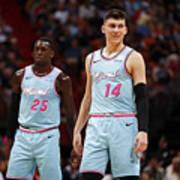 Washington Wizards v Miami Heat Art Print