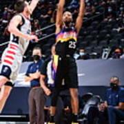 Washington Wizards v Phoenix Suns Art Print