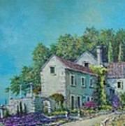 Village Vista Art Print