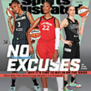 WNBA Turns 25 No Excuses Sports Illustrated Cover Art Print
