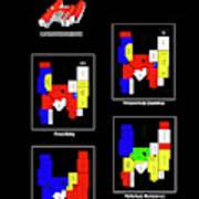 Anvendelser af X-faktor liebhavervilla i Hedensted DK til salg Art Print