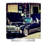 1967 Chevelle Shower Curtain