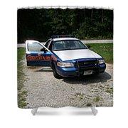 Georgia State Patrol Shower Curtain