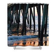 16th Street Pier Shower Curtain