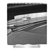 1948 Chevrolet Hood Ornament Shower Curtain