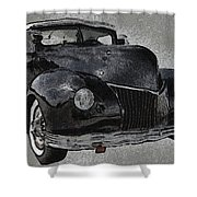 39 Custom Coupe Shower Curtain