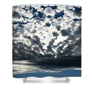 A Glorious Cloudscape Shower Curtain