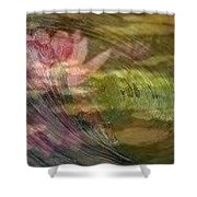 A Splash Of Lily Shower Curtain
