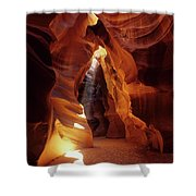 Antelope Canyon Ray Of Hope Shower Curtain