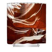 Antelope Slot Canyon Shower Curtain