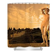 Apollo Sacred Street Shower Curtain