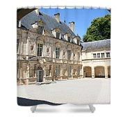 Arch View Palace Bussy Rabutin Shower Curtain