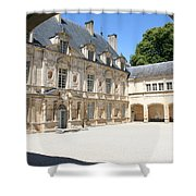 Arch View Palace Bussy Rabutin Shower Curtain