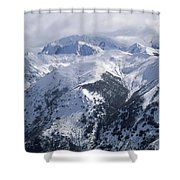 Argentina. Andes Mountains Shower Curtain by Anonymous