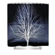 At Maple Hill Park Shower Curtain