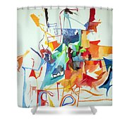 At The Age Of Three Years Avraham Avinu Recognized His Creator 1 Shower Curtain