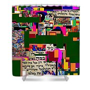 Atomic Bomb Of Purity 5a Shower Curtain
