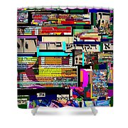 Atomic Bomb Of Purity 8 Shower Curtain by David Baruch Wolk