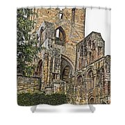 Augustinian Abbey Shower Curtain
