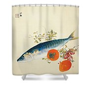 Autumn Fattens Fish And Ripens Wild Fruits Shower Curtain