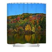 Autumn Reflection Shower Curtain