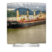 Avocet In The Panama Canal Shower Curtain