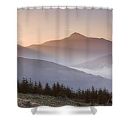 Ben Lomond Sunrise Shower Curtain
