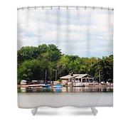Boathouse Shower Curtain