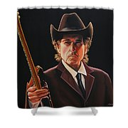 Bob Dylan 2 Shower Curtain