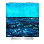 Body Of Water Shower Curtain
