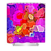 Bold And Colorful Phone Case Artwork Designs By Carole Spandau Cbs Art Exclusives 101 Shower Curtain